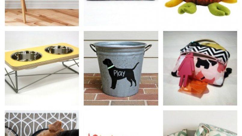 decoración moderna para perro