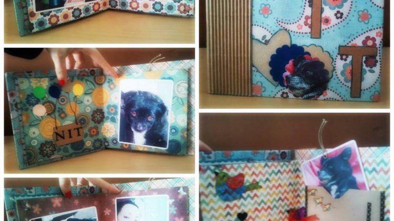 scrapbooking y perros