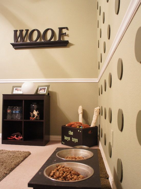 10 rincones espectaculares en casa para tu perro c mo for Dog grooming salon floor plans