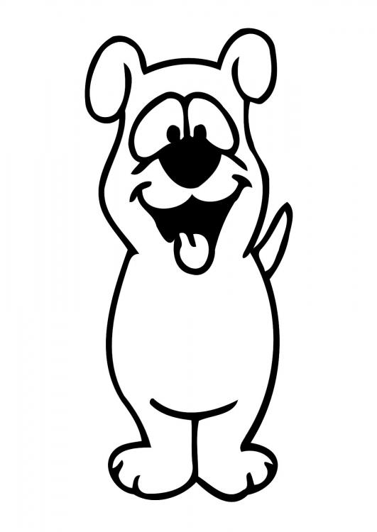 Cachorros para colorear - Cómo educar a un cachorro